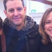 Gemskii, presenter Matt Baker, and Marie